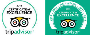 Trip Adisor Excellence 2017, 2018