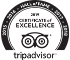 (2019)Trip AdvisorHall of Fame